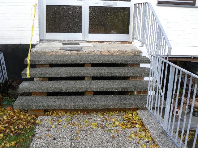 Stufen Bild Vorher