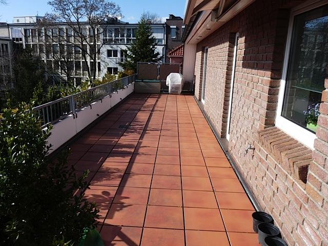 Terrassen Bild Vorher