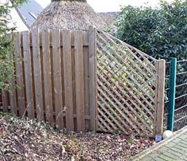 Zäune & Sichtschutz